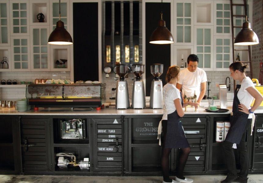The Grounds of Alexandria Bar design restaurant, Cafe design