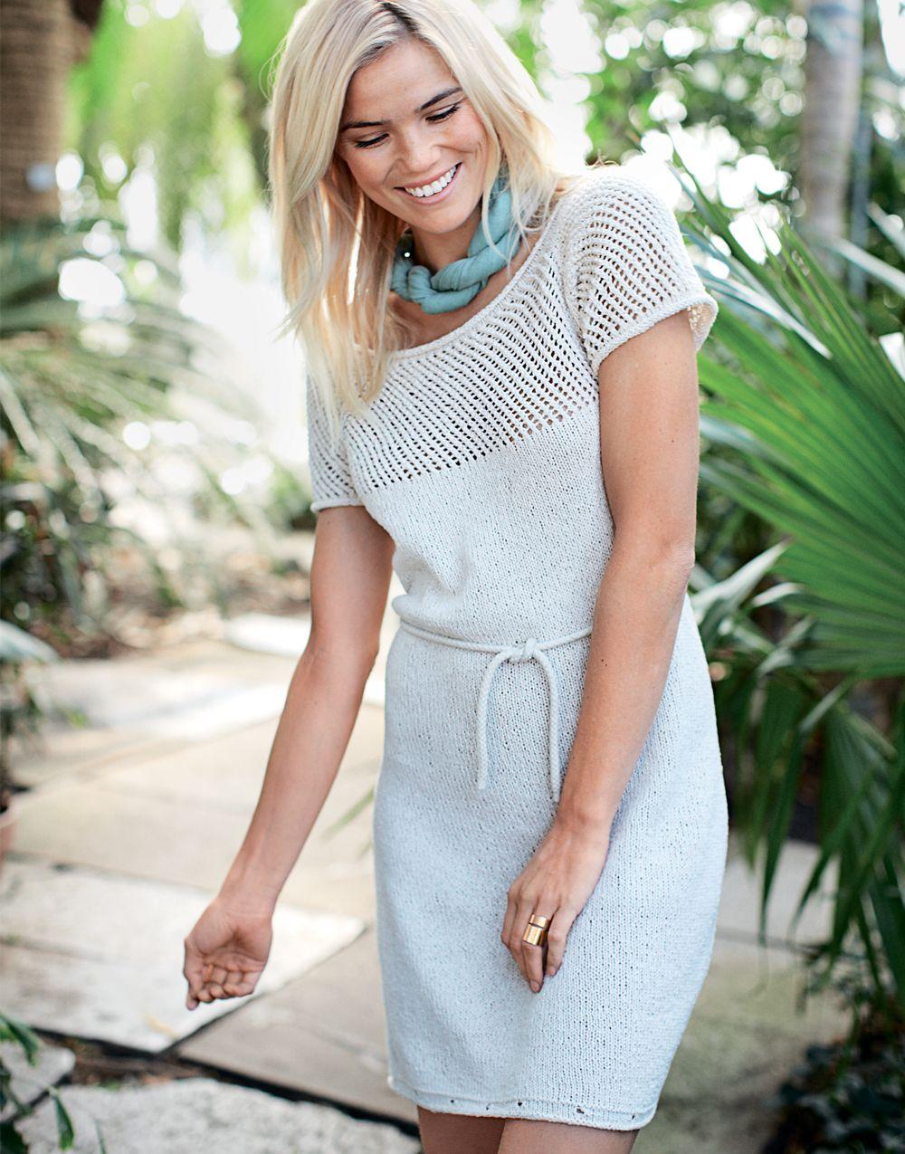 платье-свитер схема 2012
