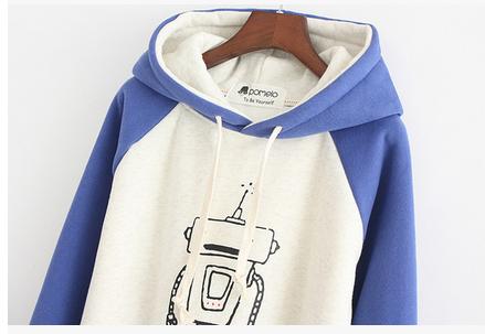 بلوفرات طويلة فرو وردي ازرق بيج Sweaters Fashion Hoodies