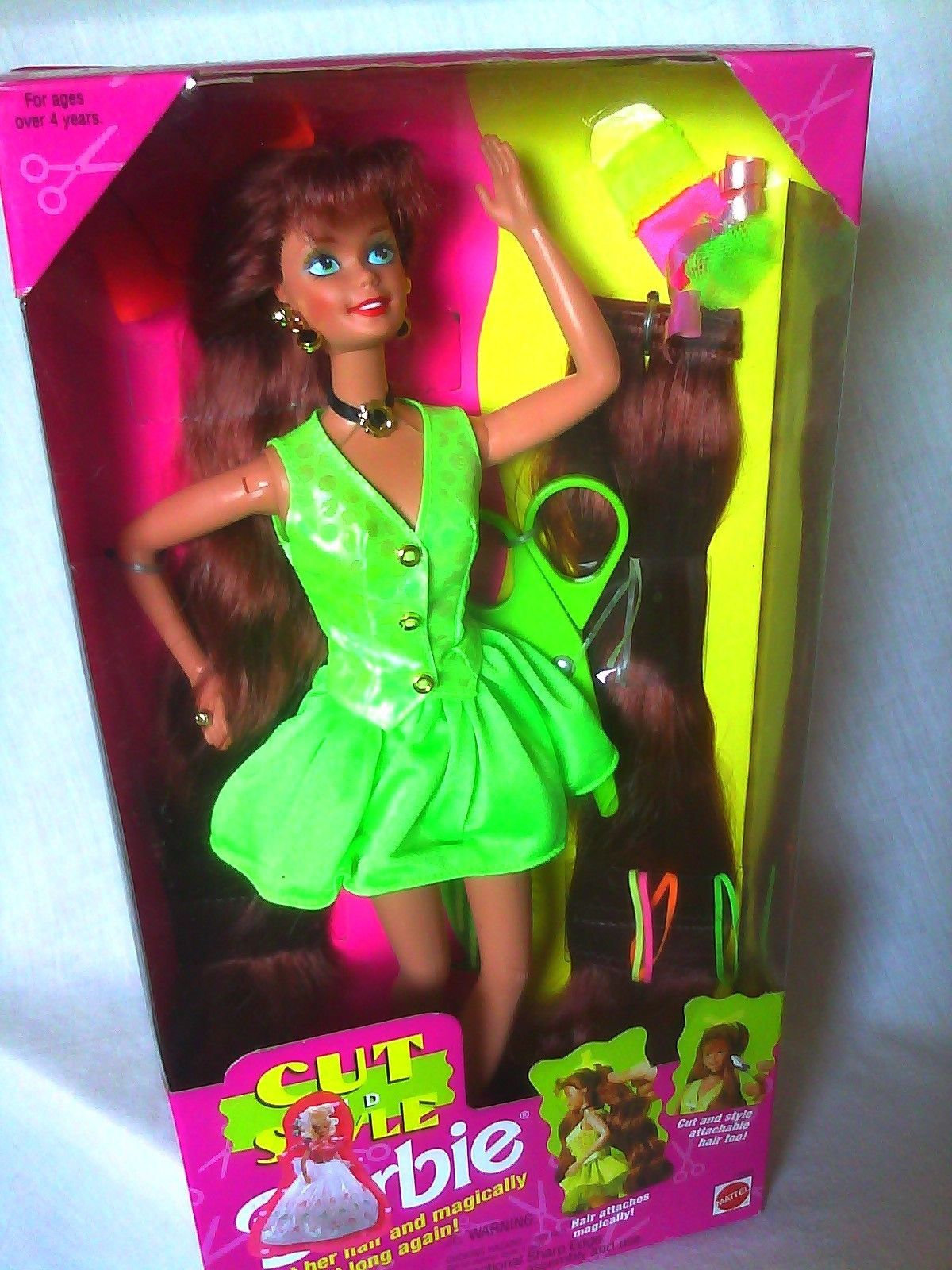 New Cut and Style Redhead Barbie Doll