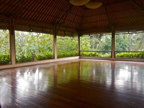 Yoga Barn Ubud Rural House Meditation Space Yoga Space
