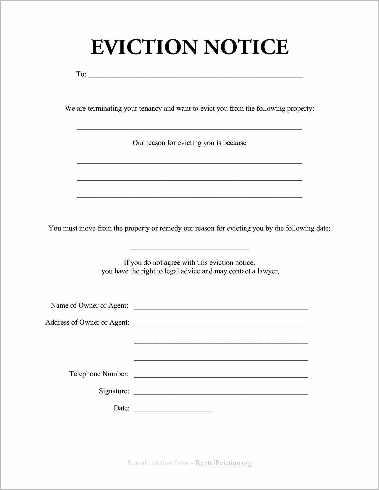 Ontario Teacher Resume Sample Notice Of Eviction Form Ontario Forms Pinterest
