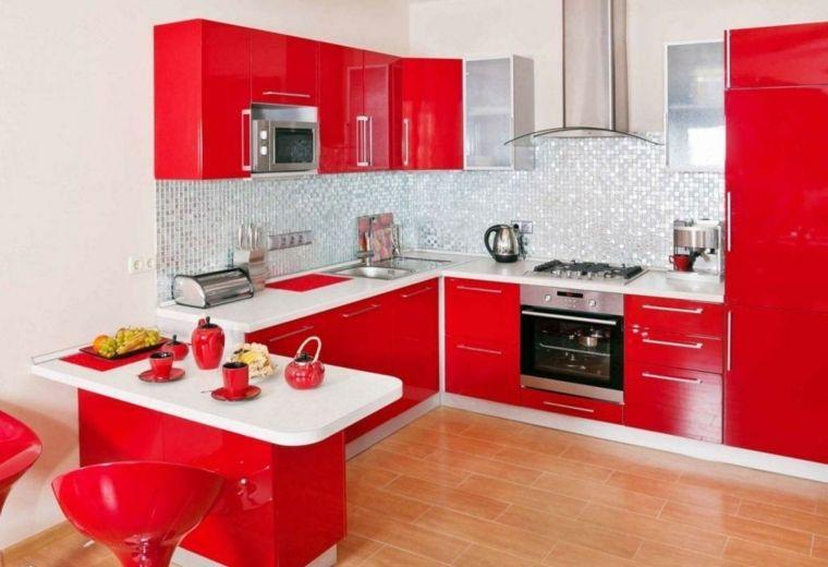 Magnífico Colores Brillantes Muebles De Cocina Cresta - Ideas de ...