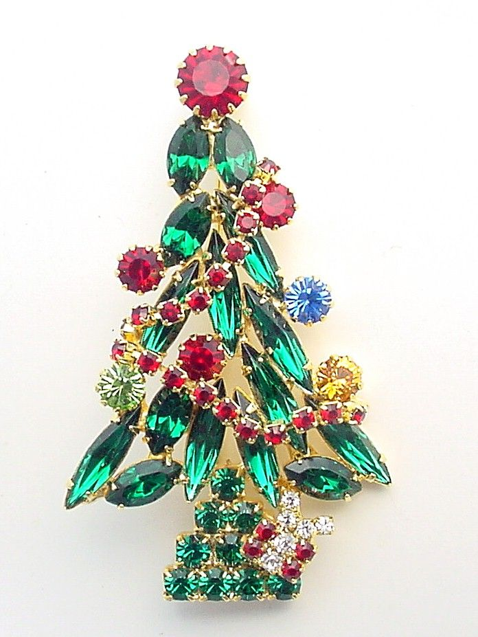 Image detail for -christmas tree pin with garland $ 36 this brand ...