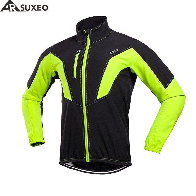 Thermal Cycling Jackets Winter Warm Windproof Waterproof  MTB Bike Jersey