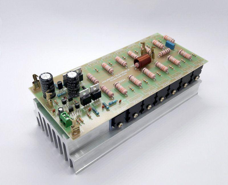 Placa Montada Amplificador De Audio 1000w Rms 2 Ohms Com