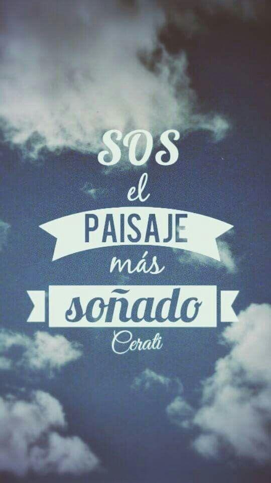 Frases De Cerati Frases De Rock Argentino Frase Cerati Y