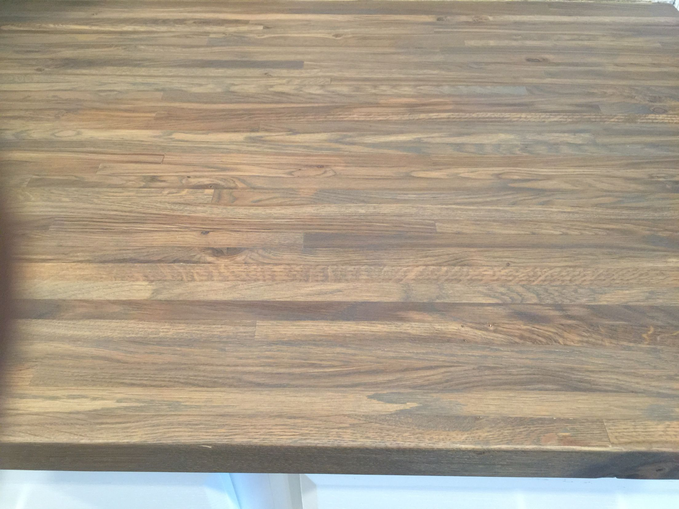 Gray Stained Butcher Block Butcher Block Countertops Butcher Block Stain Diy House Projects