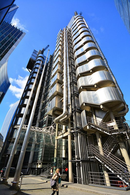 The Lloyds Building London 26 5 2015 Building Modern Architecture Lloyd S Of London