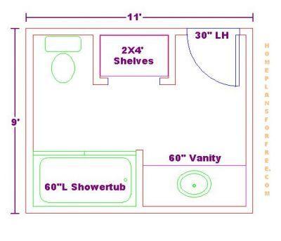normal 9x11 bath floor plan 032410 jpg 400 343 pixels on custom bathroom vanity plans id=34905