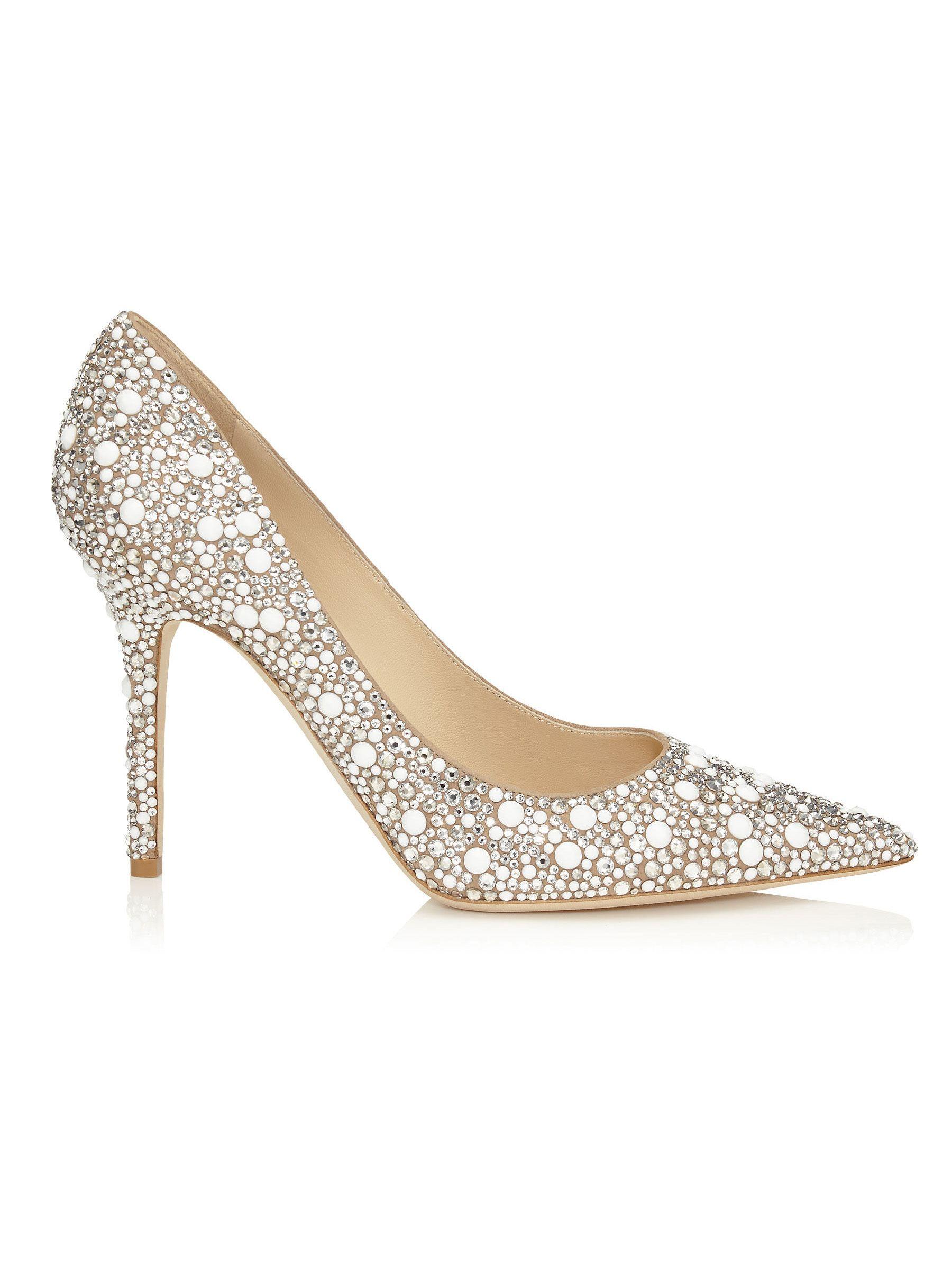 9e65853fd20ea Zapato de Jimmy Choo - ABEL G | MODA | Sapatos de noiva ...