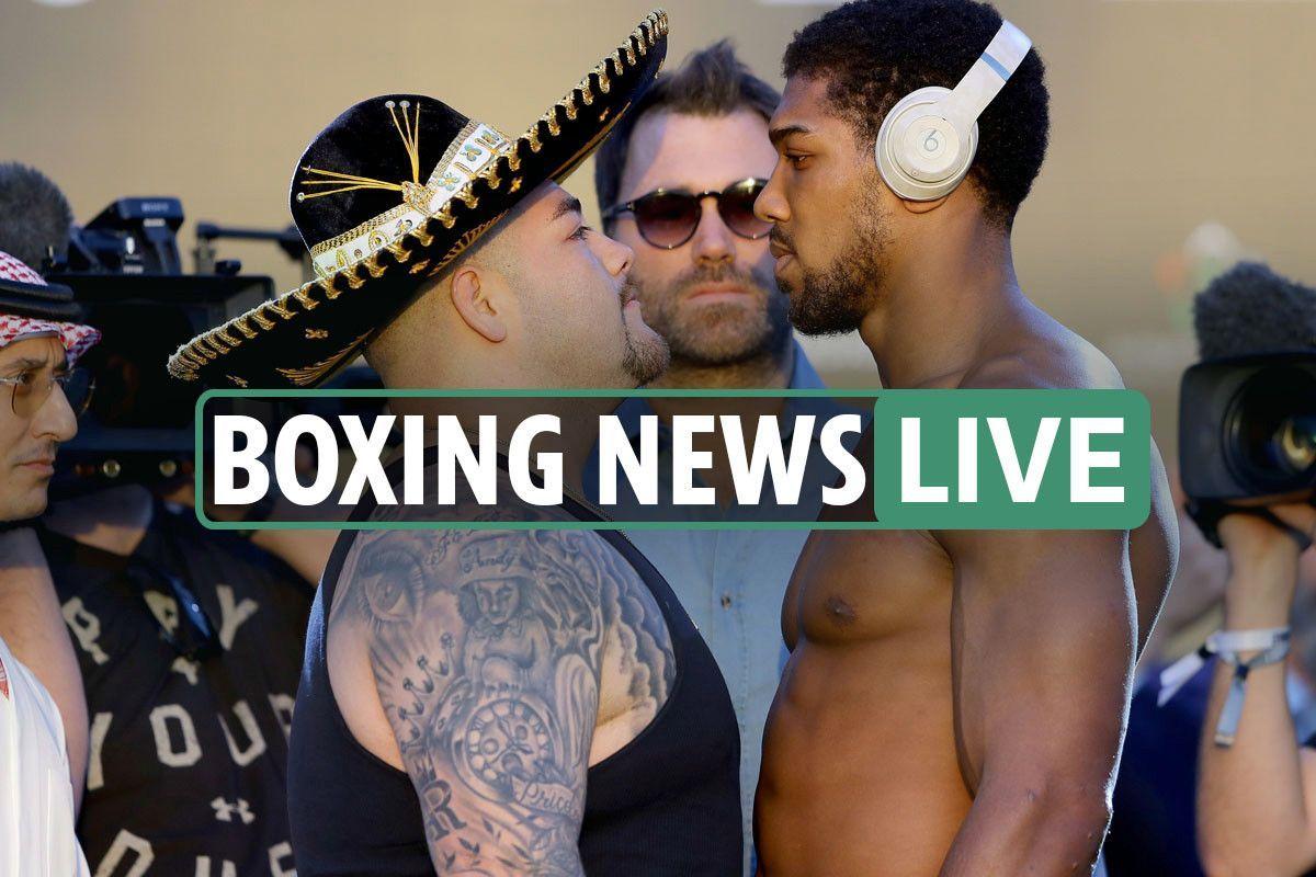 5pm Boxing news LIVE Joshua vs Ruiz TONIGHT AJ weighs in