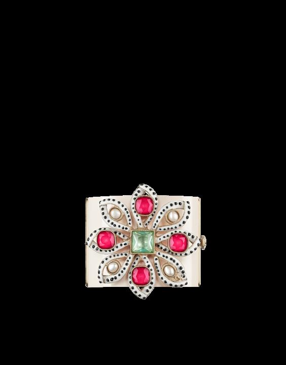plexiglas cuff embellished with... - CHANEL