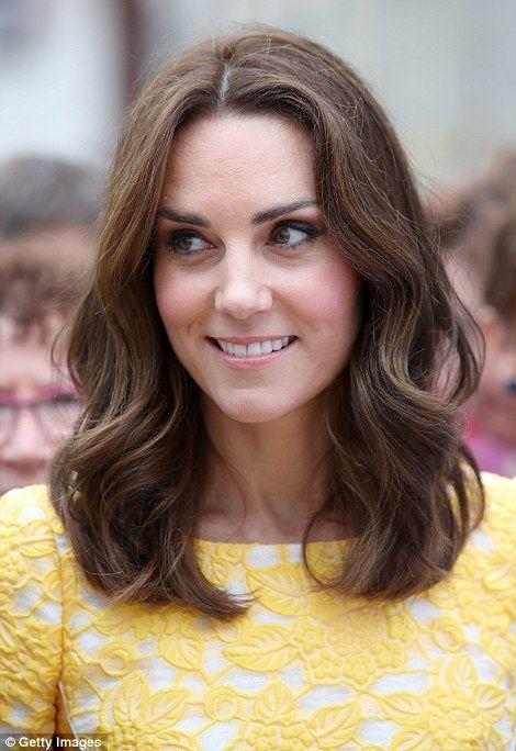 Bob Kate Middleton Short Hair