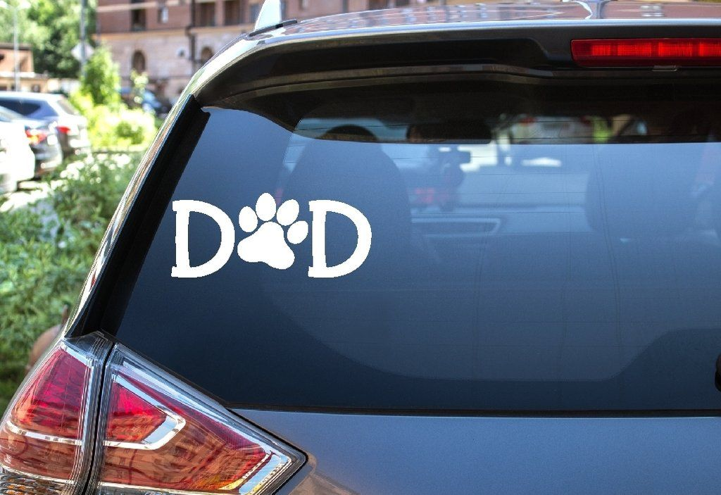 Car window decal dad car window decals car window