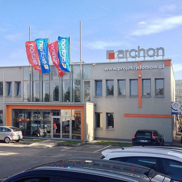 Przedstawiamy siedzibę główną #Archon mieszczącą się w #Myślenice Tym razem zapraszamy Was do naszego domu!