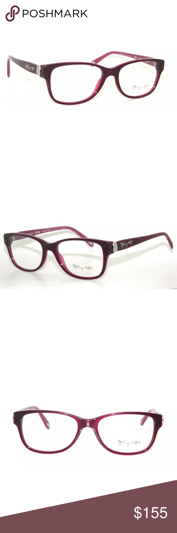 268173e89cd6 Tiffany   Co Plum Optical Eyeglasses 2084 Clear New Comes with Tiffany case Authentic  Tiffany   Co. Accessories Glasses