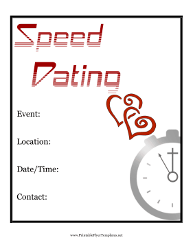 Speed Dating and Singles events in the UK
