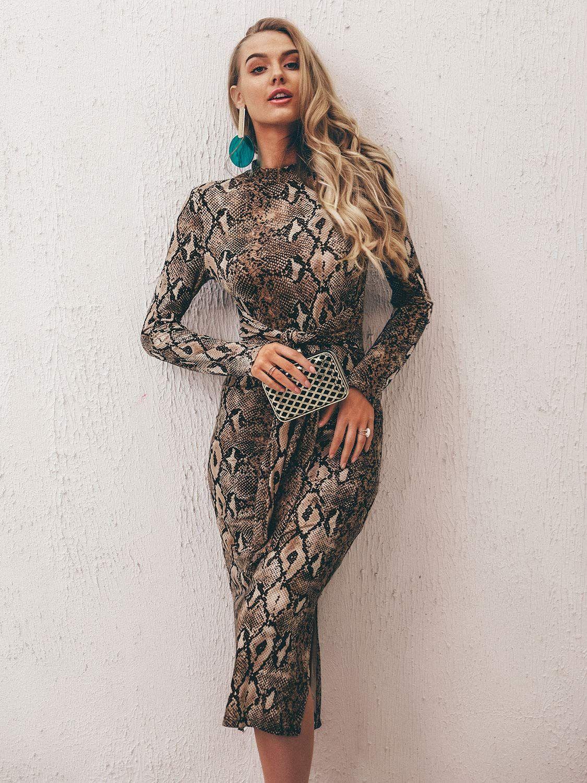 25d2c16f9c82 Cute Leopard Print Dresses