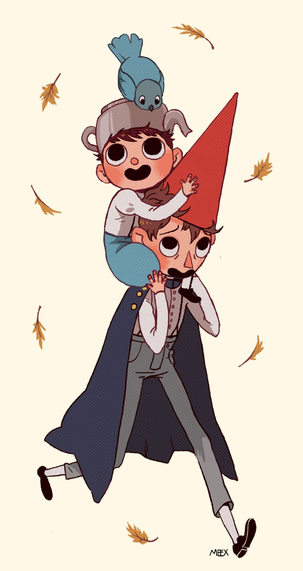 Over the garden wall art style  Greg and Wirt by Sara Kipin  OVER THE GARDEN WALL  Pinterest