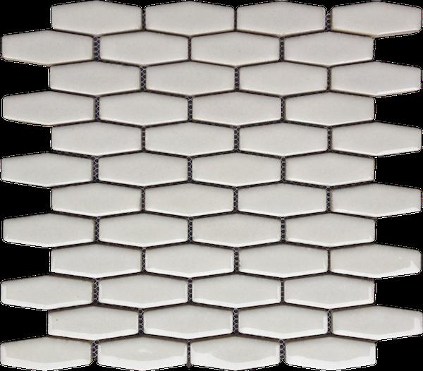 White Ceramic Hexagon Tile Tile Design Ideas