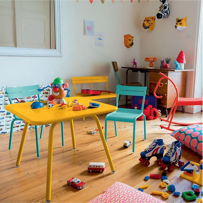 Petite Chaise Et Table Enfant Fermob Collection Luxembourg
