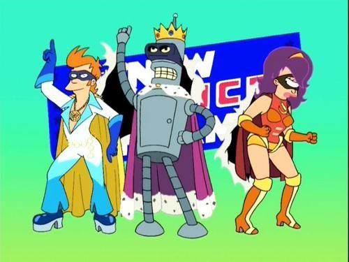 The New Justice Team Futurama Cartoons Comedy Animation Art