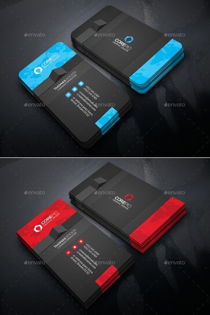 10 Best Business Card Design Ideas | Business cards and Logos
