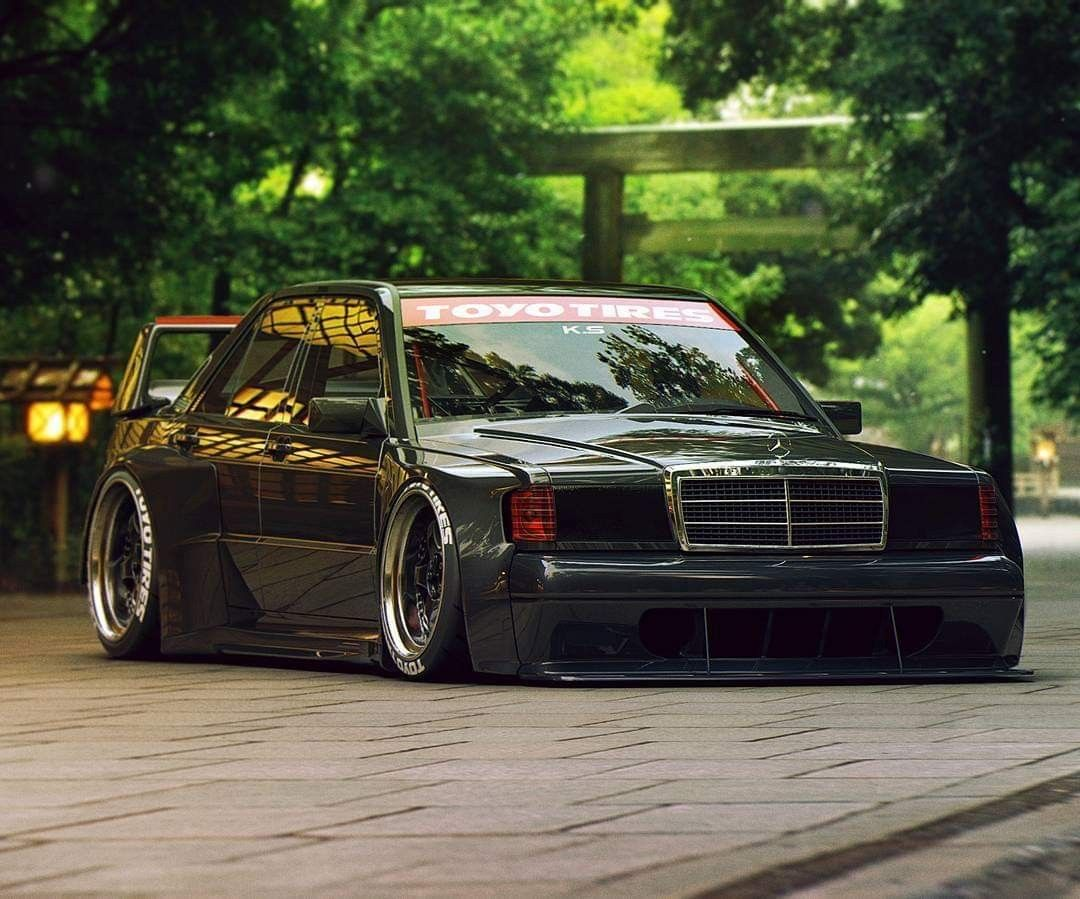 Pin By Jay Serrano On Tuner Cars Mercedes Benz 190e Mercedes