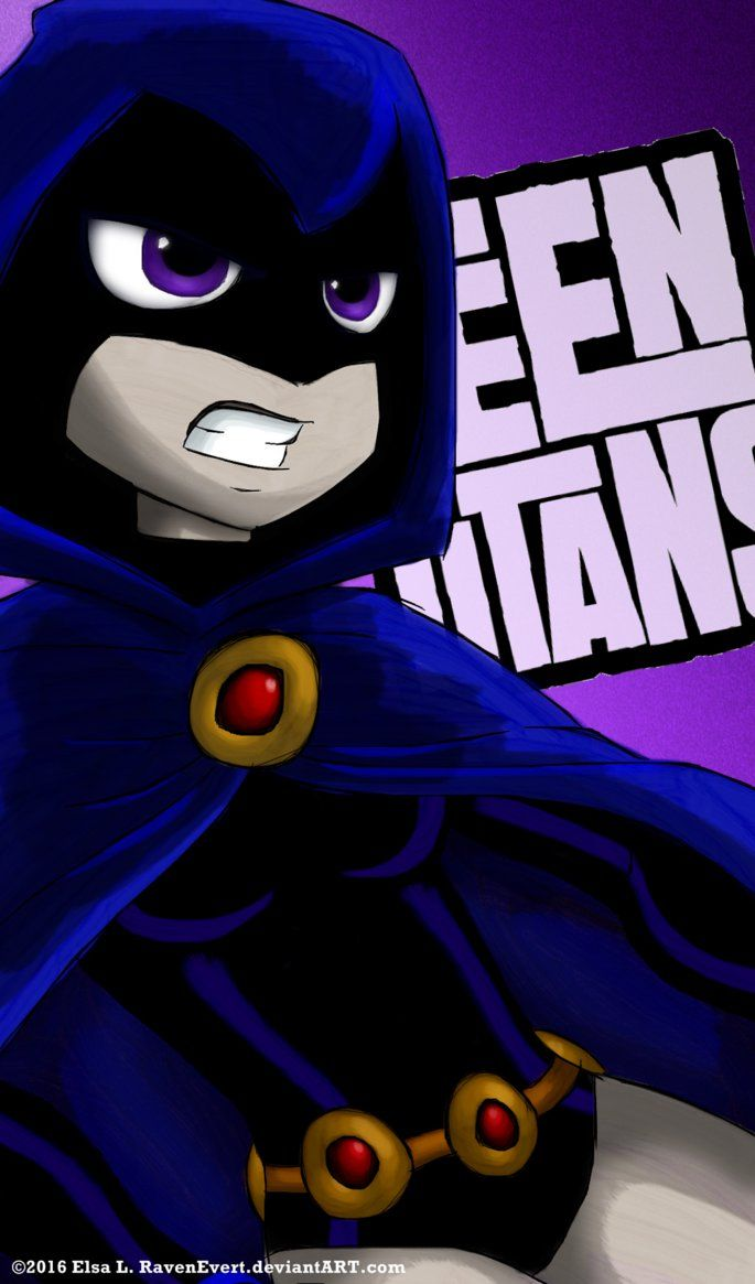 Raven pics from teen titans
