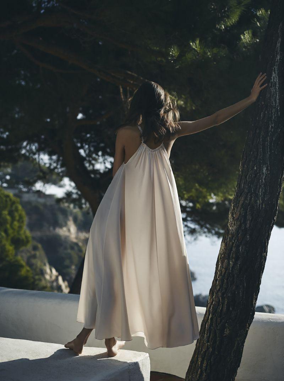 filippa k silk strap dress