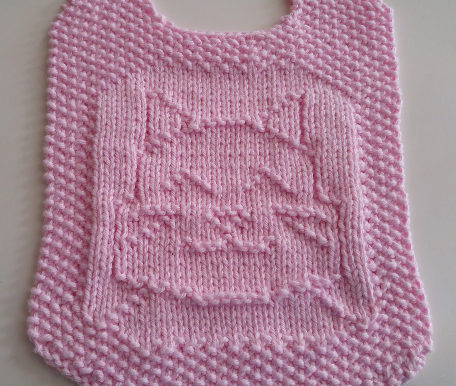 Down cloverlaine baby crochet items pinterest knitted baby one fat cat bib found on ravelry by elaine fitzpatrick she has a baby washcloth that matches this see board knit baby items free knit bankloansurffo Image collections