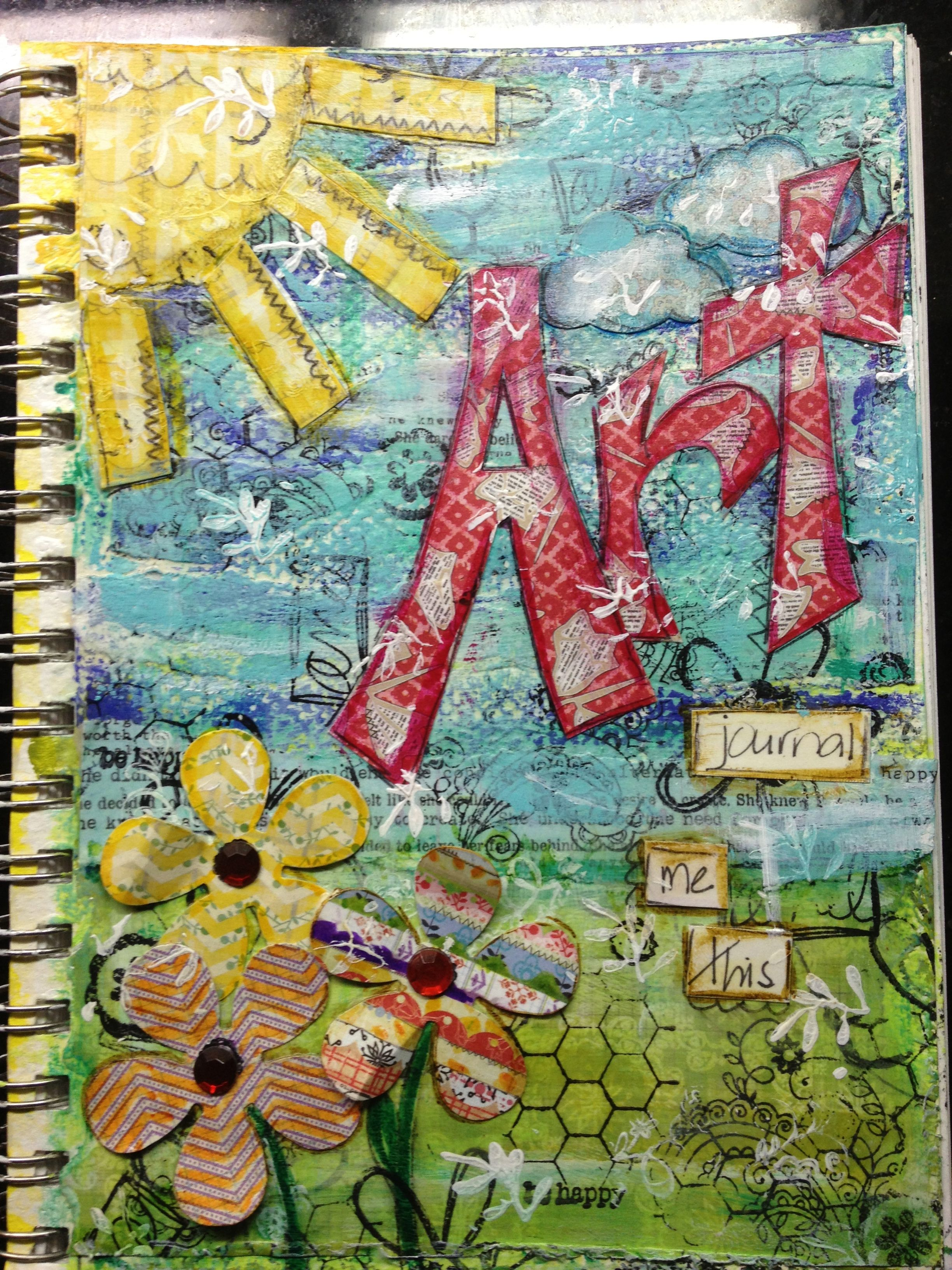what is a art journal