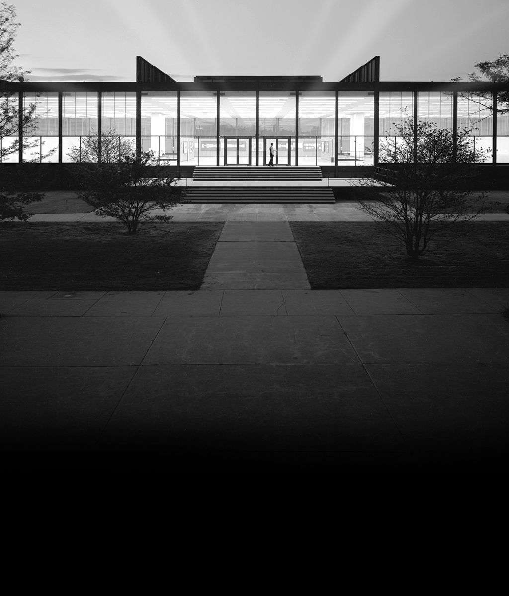 scandinaviancollectors:  MIES VAN DER ROHE, Crown Hall, Illinois Institue of Technology, 1950-1956. / Only An Echo