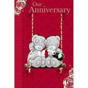 Me To You Tatty Teddy On Our Anniversary Card Tatty Teddy Cute Teddy Bears Blue Nose Friends