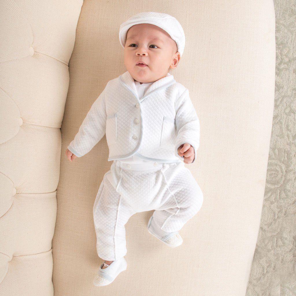 d8630081b Harrison Suit | Quilted Cotton - Boys Christening Outfits - Boys Blessing  Outfit - #Christening