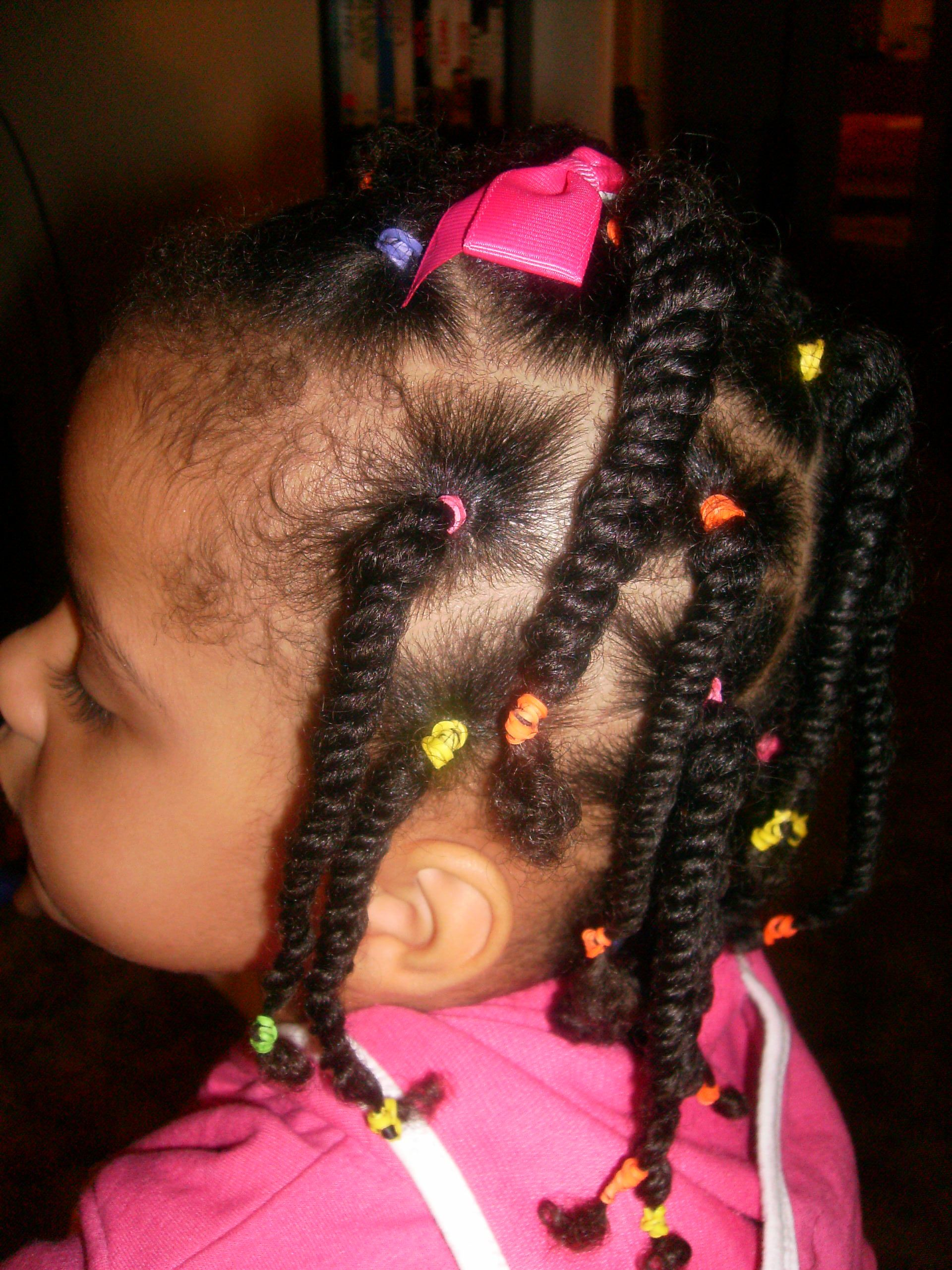 After Christmas Style Natural Hairstyles For Kids