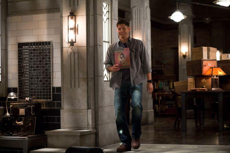 BuddyTV Slideshow | Supernatural Episode 8.17 Photos: Cas, Crowley and Meg Return