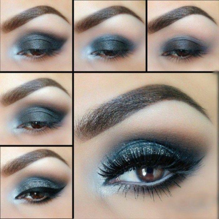 ▷ 1001+ Ideen für tolles Augen Make Up #makeupeyeshadow