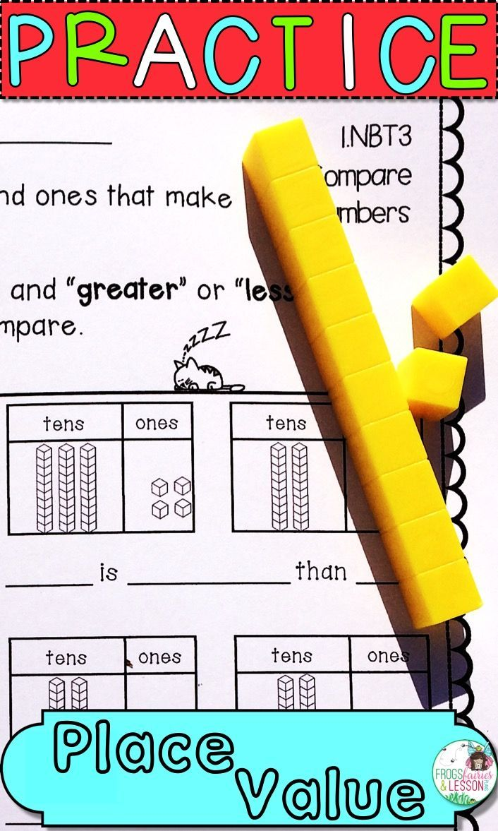 Grade 1 Worksheets Place Value Identifying Place Value Of Digits Ones And Ten Free Printable Math Worksheets 4th Grade Math Worksheets Place Value Worksheets [ 2339 x 1654 Pixel ]