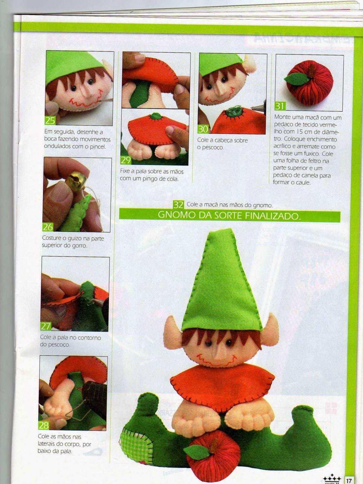 Revistas de fieltro para descargar gratis | Navidad | Pinterest ...