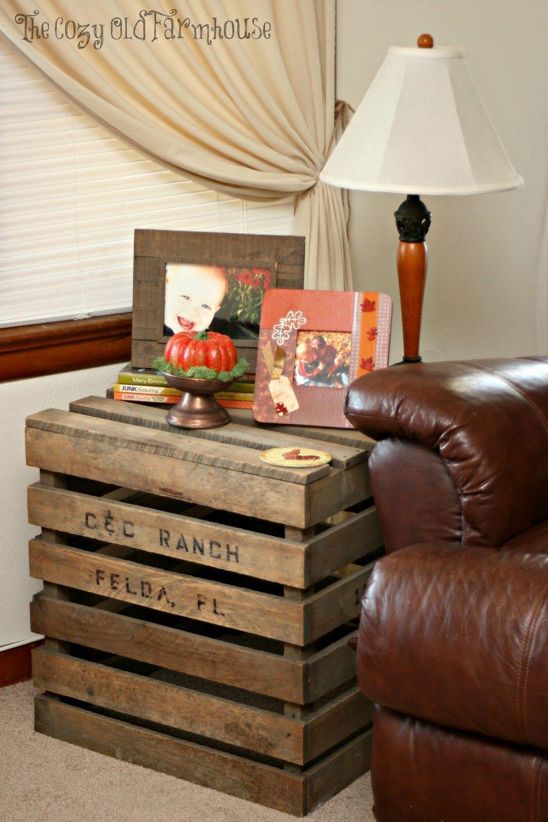 The Cozy Old Farmhouse Fall Decor Part 2