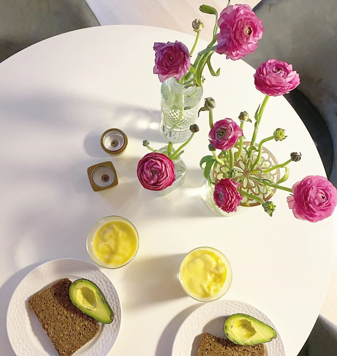 Breakfast is better with Ranunculus.
