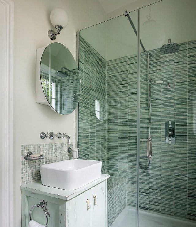 renoviertes haus im eklektischen stil-badezimmer mit begehbarer - eklektischen stil einfamilienhaus renoviert