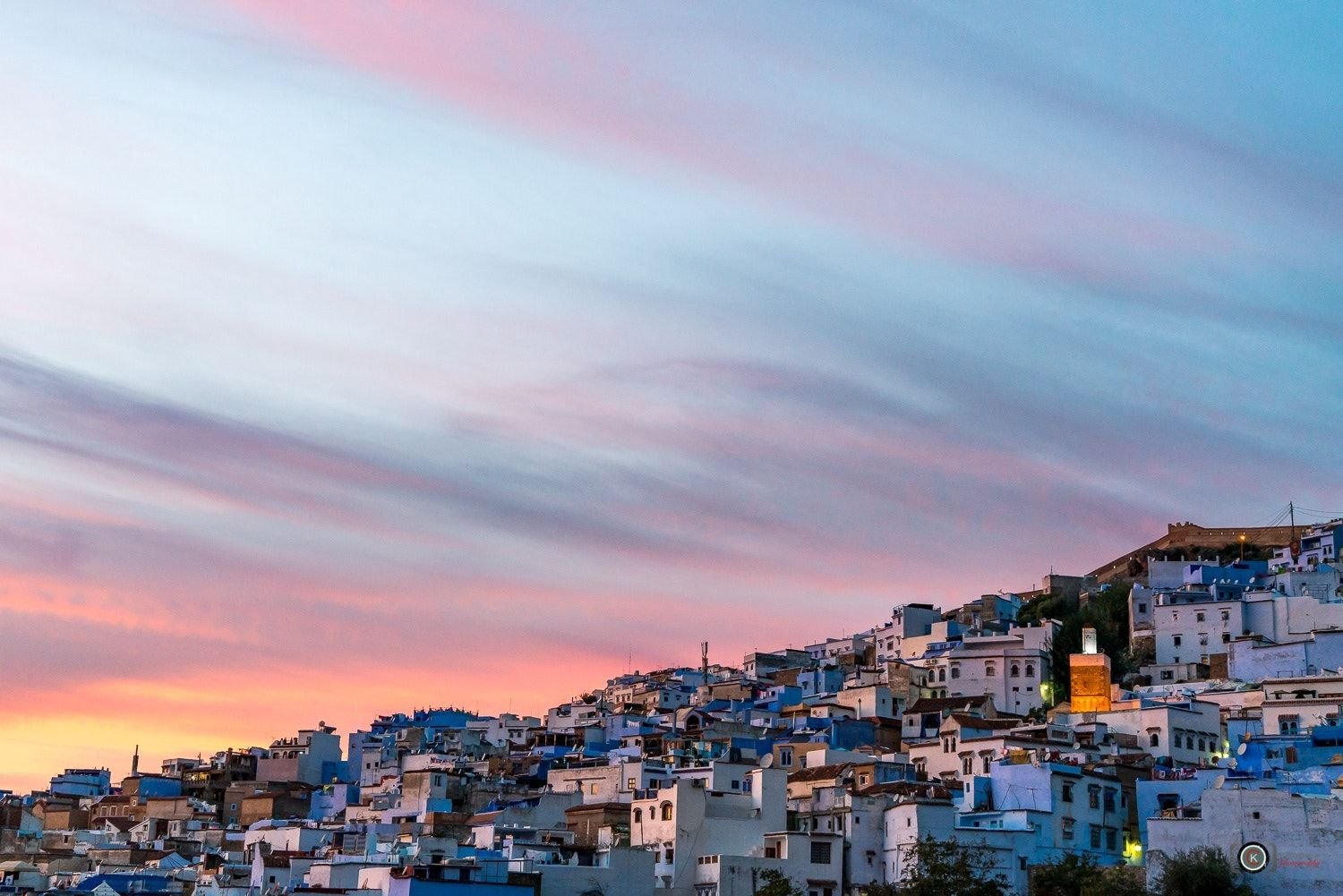 Sunset II Chefchaouen The Blue Pearl City - null
