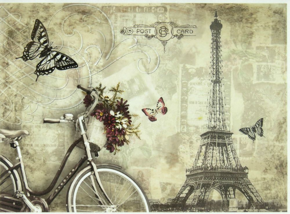 rice paper vintage paris for decoupage decopatch scrapbook craft sheet live pinterest. Black Bedroom Furniture Sets. Home Design Ideas