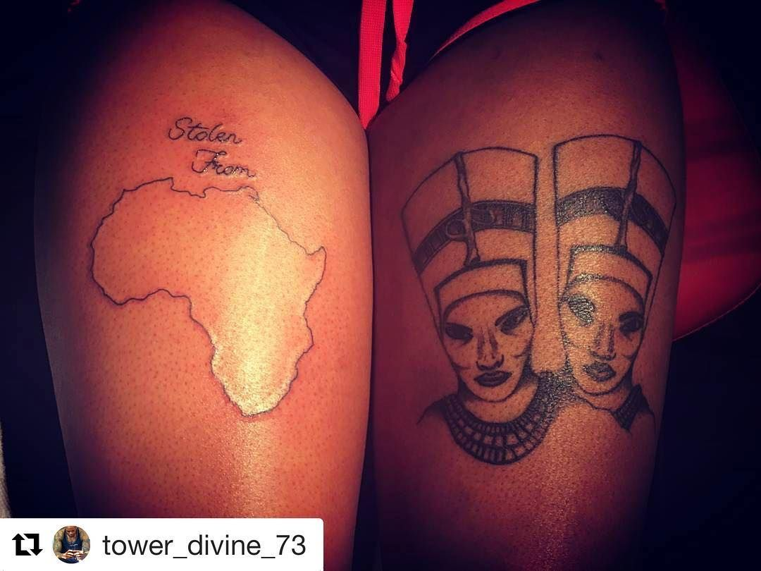 African Empress Tattoo with regard to repost