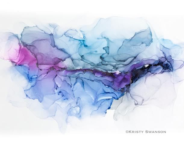 alcohol ink artist kristy swanson shares here technique and