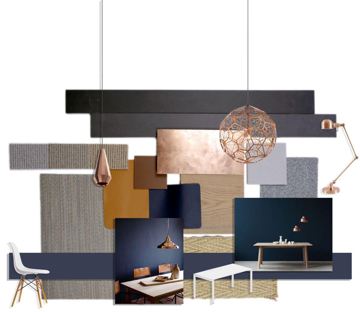 Mustard And Blue Living Room Ideas 37 Inspira Spaces Copper Living Room Blue Living Room Living Room Color Copper living room decor