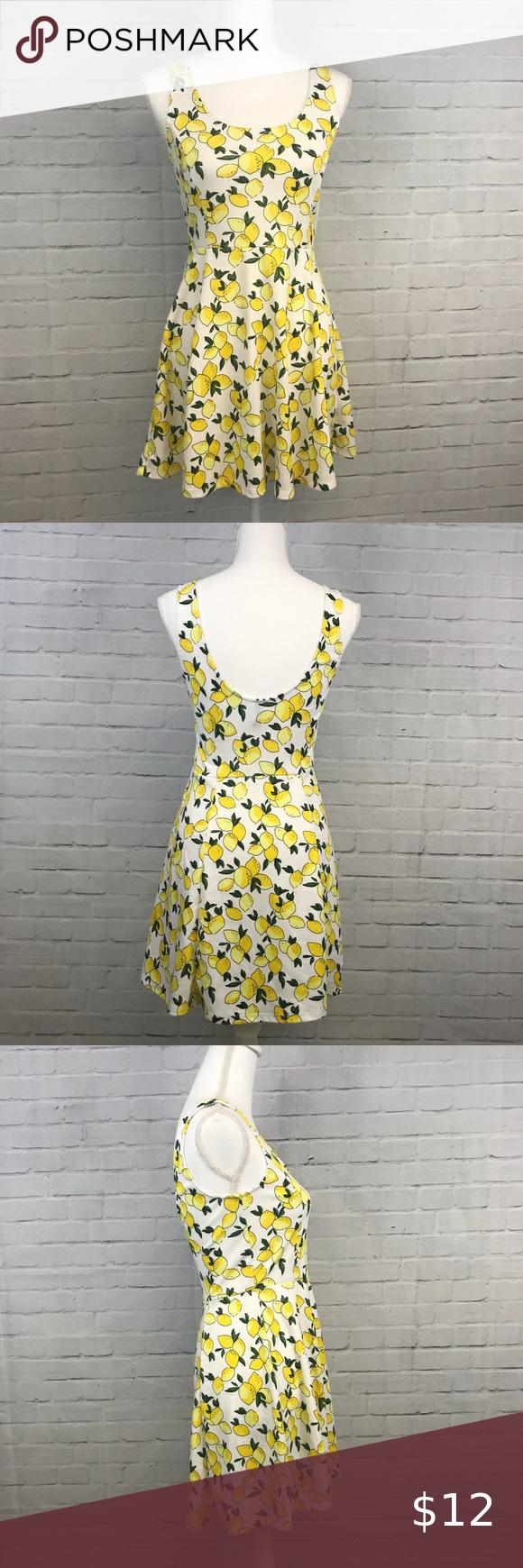 Divided White Lemon Dress Size 8 Lemon Dress Dresses Clothes Design [ 1740 x 580 Pixel ]